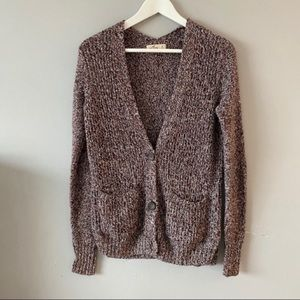 Hollister button up cardigan with pockets size S